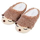 Cute Animal Unicorn Slippers   Rainbow Unicorn Slippers   Moose elf Plush Home Slides Shoes   Fluffy Girls Gift Slippers