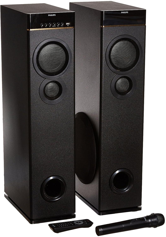 Philips Spa9080b Multimedia Tower Speakers Black Price Buy Skun Pcb Set 7500 5 Online In India