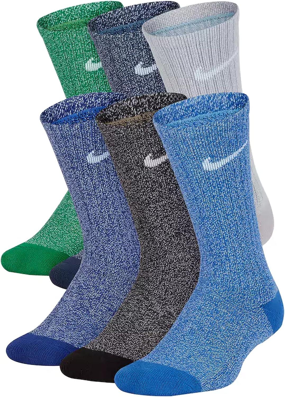 Amazon.com: Nueva banda de Nike paquete de 6 Boys algodón ...