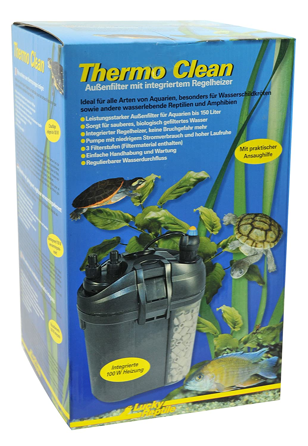 Lucky Reptile TCF-150 Thermo Clean 150 Filter  Heater