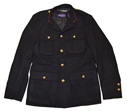 new arrival 4060d 8a647 Ralph Lauren Purple Label Men Military General Jacket Wool ...