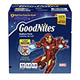 Amazon Price History for:GoodNites Bedtime Pants for Boys, Size Small/Medium, 44 Count