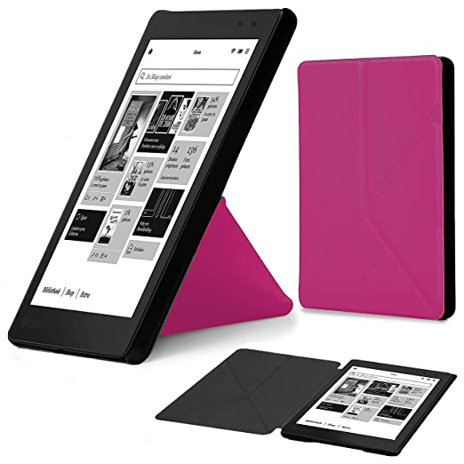 156 opinioni per Forefront Cases® Kobo AURA One N709-KU-BK-K-EP Lettore eBook Smart Case Cover