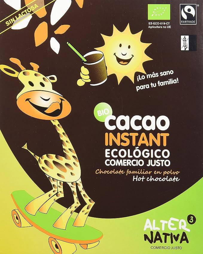 AlterNativa3 Cacao Instant Bio - 750 gr: Amazon.es: Alimentación y bebidas