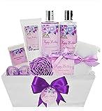Birthday Gift Basket Spa Kit - Spa Basket Bath & Body Birthday Basket Gift Set is the #1 Women Birthday Gift for Wife, Mom & Friends! Spa Gift Basket is Best Birthday Gift Idea for Women!