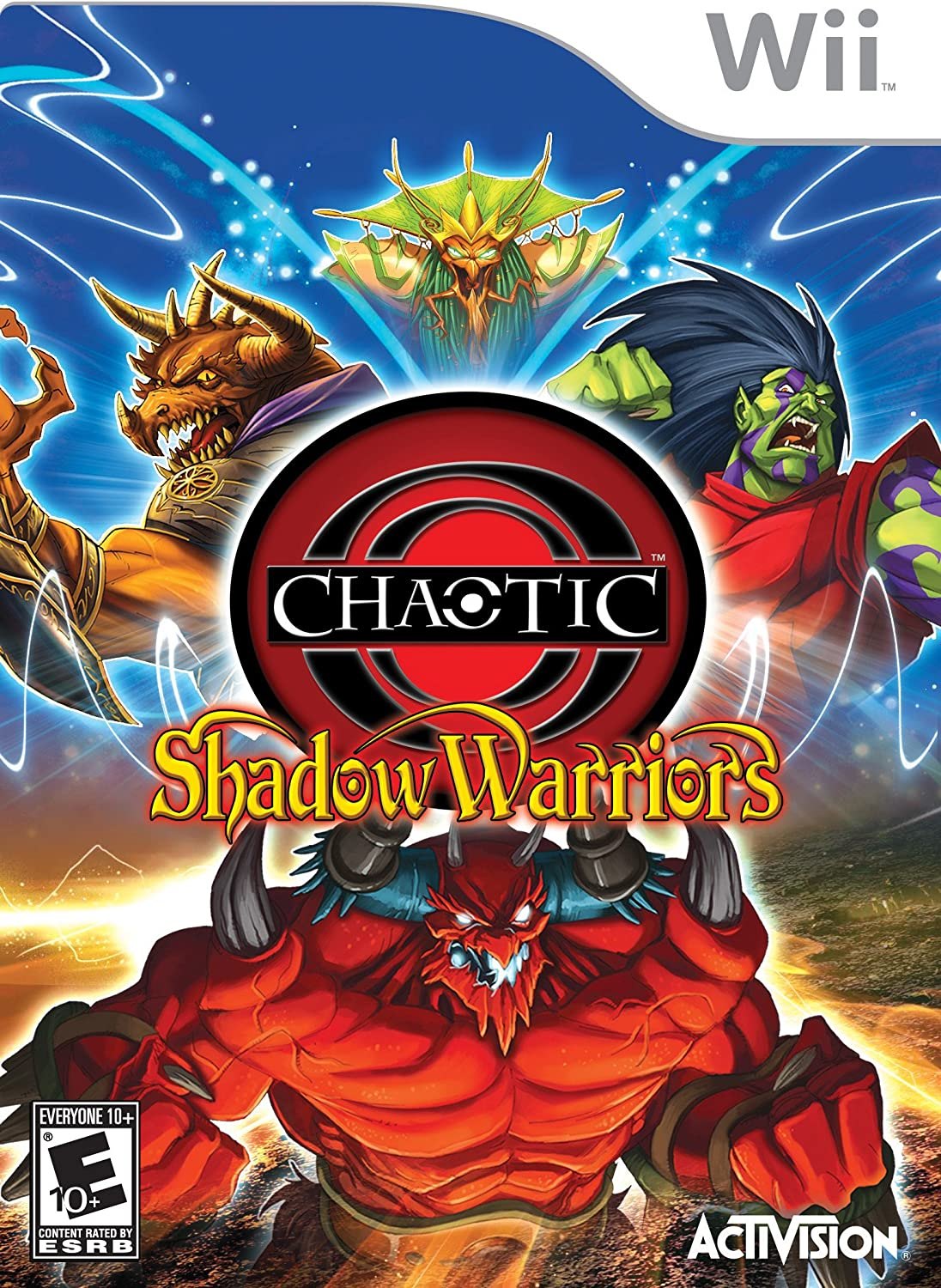 Image result for chaotic shadow warriors wii