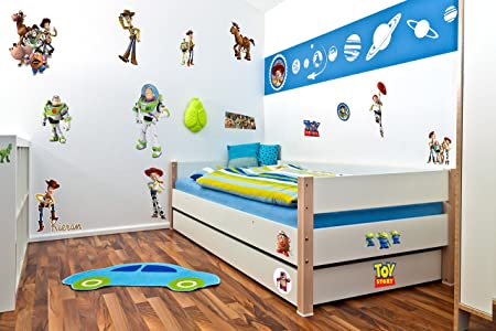 Toy Story Wall Stickers Decal Kids Room Bedroom Children Decoration