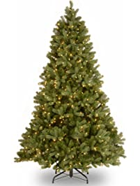 national tree 65 foot feel real downswept douglas fir tree with 650 clear lights - Real Looking Christmas Trees