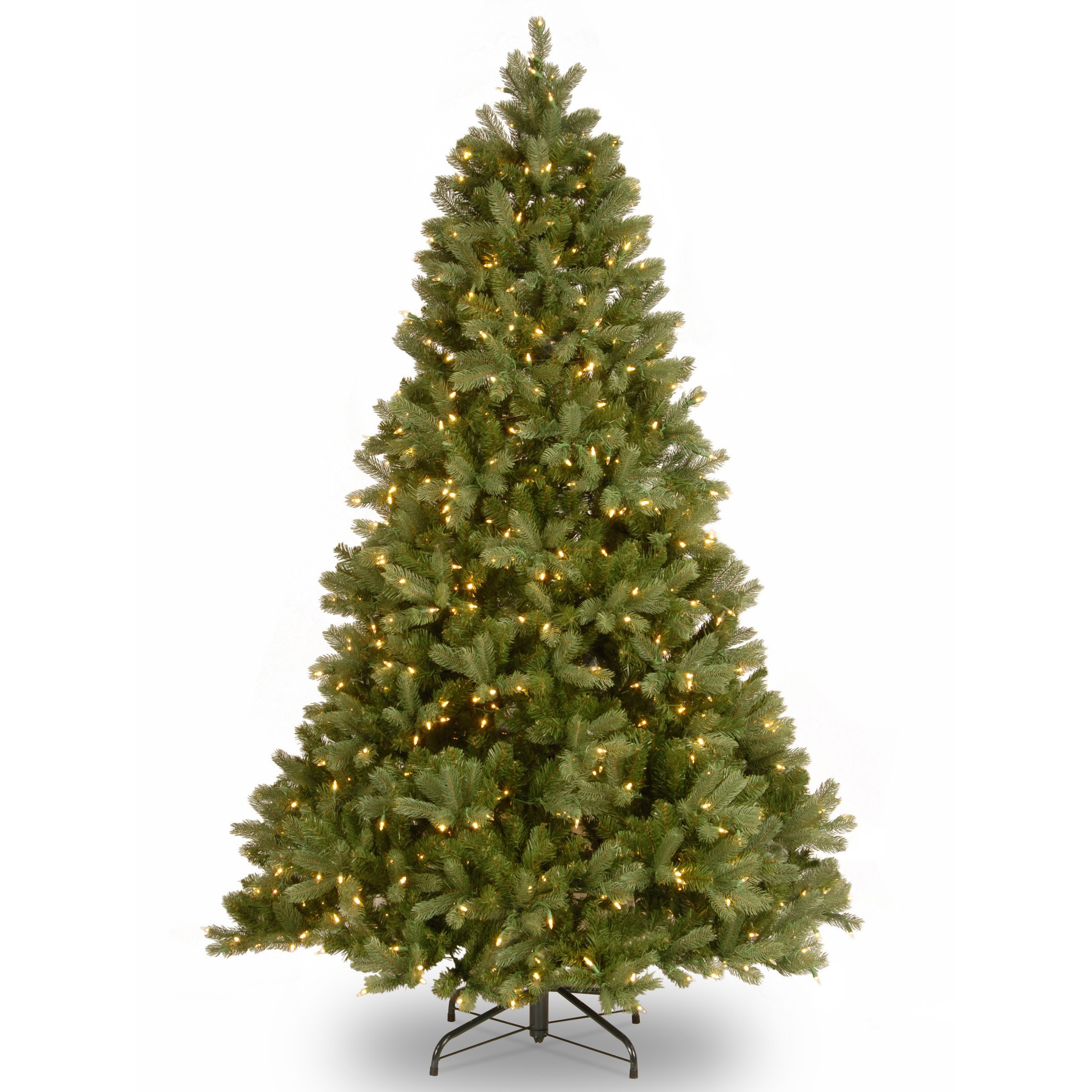 National Tree 7.5 ft. Downswept Douglas Tree with Clear Lights by National Tree Company (Image #1)