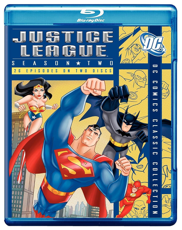 Justice League: Season 2 [Blu-ray] Phil Lamarr George Newbern Carl Lumbly Kevin Conroy
