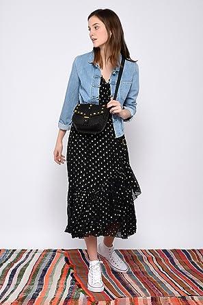 df12da26b0 Leon & Harper Robe Requiem Dots: Amazon.fr: Vêtements et accessoires