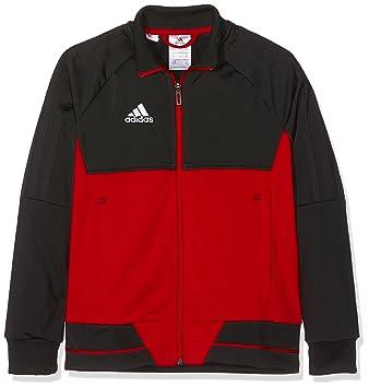 Adidas BQ2609 Chaqueta, Niños, Negro/Blanco (Escarl), 116 (5