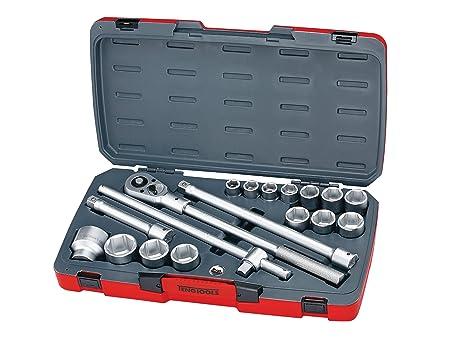 teng tools t3418 6 18 piece 3 4 inch drive metric socket set rh amazon com