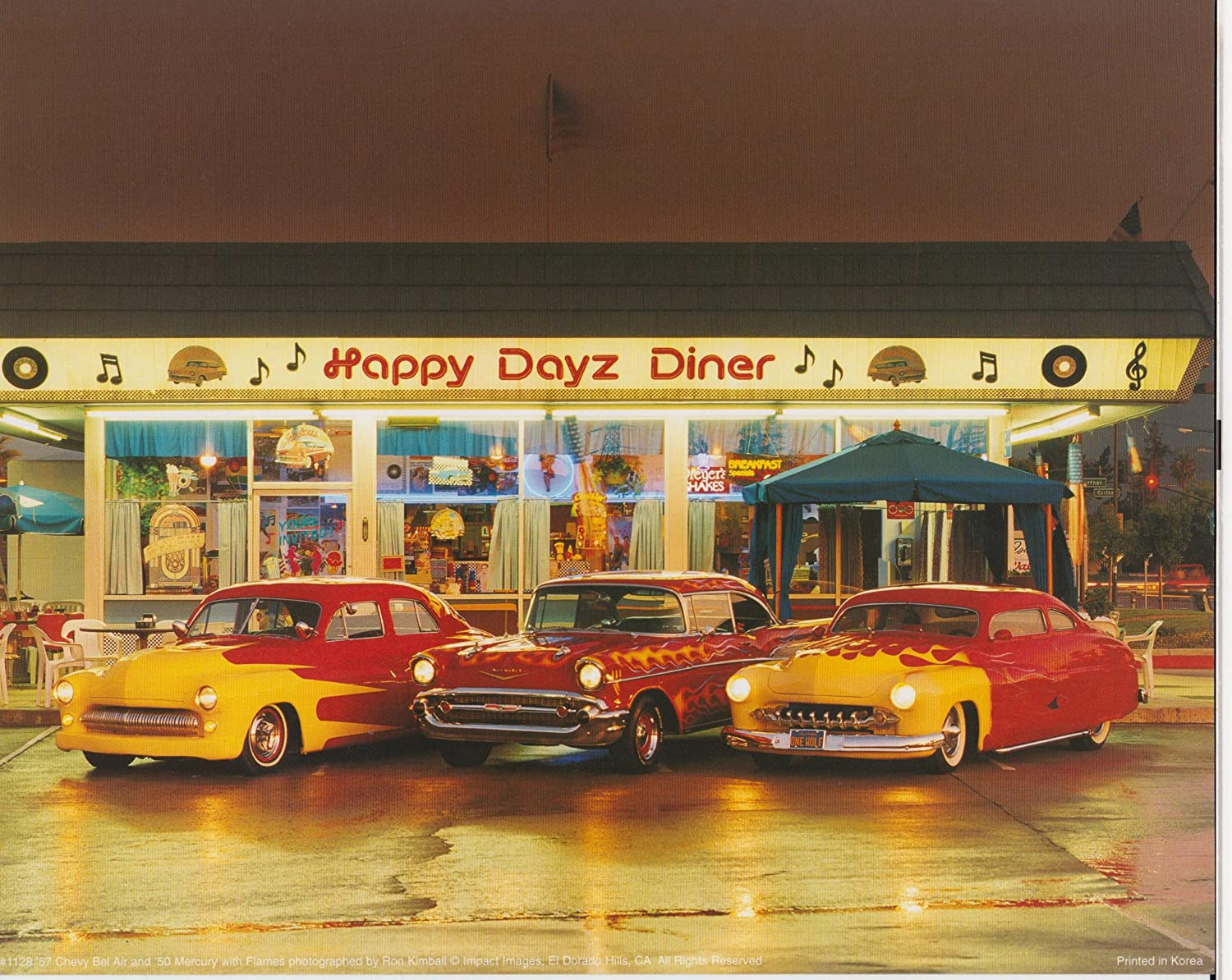 100 classic diner rock and roll amazon com 1997 for Diner home decor