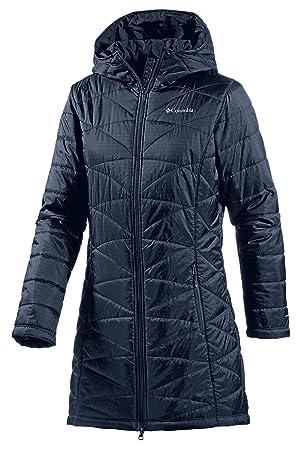 Columbia abrigo acolchado para Azul azul marino Talla:extra-small: Amazon.es: Deportes y aire libre