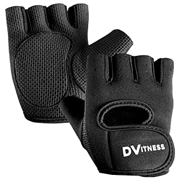 Pro Men Weight Lifting Gym Exercise Training Sport Fitness Sports Leather Gloves