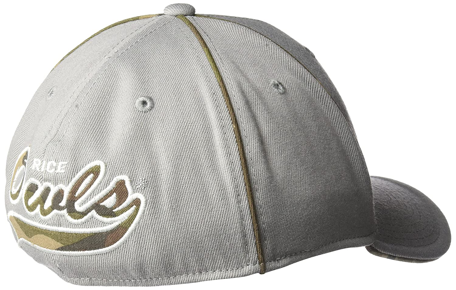 Large//X-Large Grey NCAA North Carolina State Wolfpack Mens Hint of Camo Flex Fit Cap