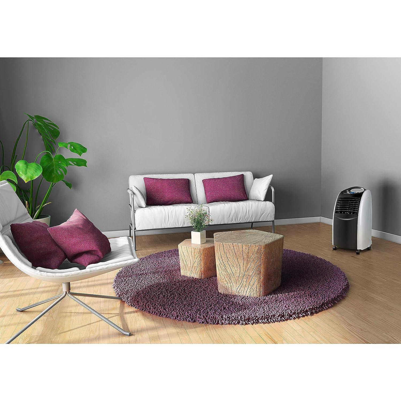 Klimager/ät f/ür die Wohnung, Luftk/ühler und Luftreiniger, Fernbedienung, 6 Liter Wassertank, 4 L/üftermodi inkl. Schlafmodus, MD17830 MEDION mobile Klimaanlage