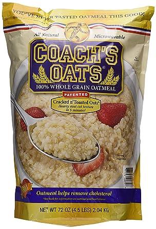 Coach la Avena 100% Conjunto Grano Oatmeal Dos Pack (4,5 ...