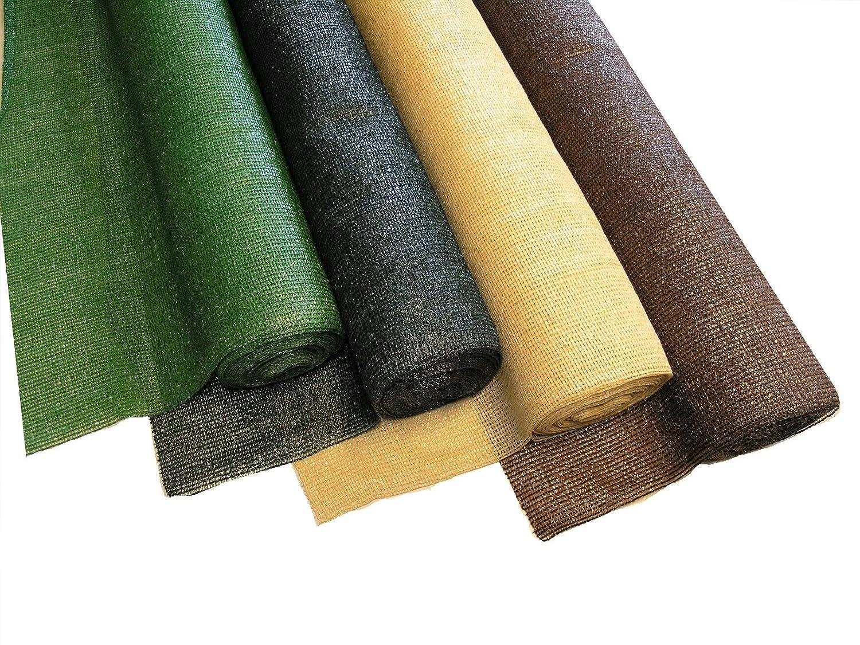Noor Schattiergewebe 100/% 2,00 x 10 m//beige