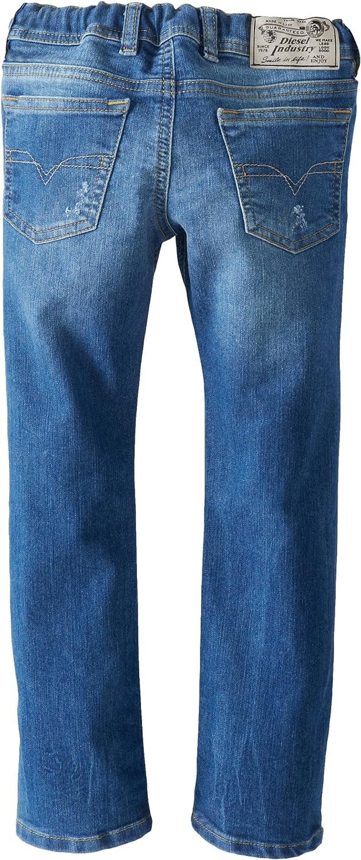 Diesel Little Boys Payski J-El Elastic Waist Superstretch Pull-On Jeans