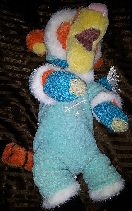 3b85aaaf9 Amazon.com: Walt Disney World Snowsuit Tigger Plush Toy 18