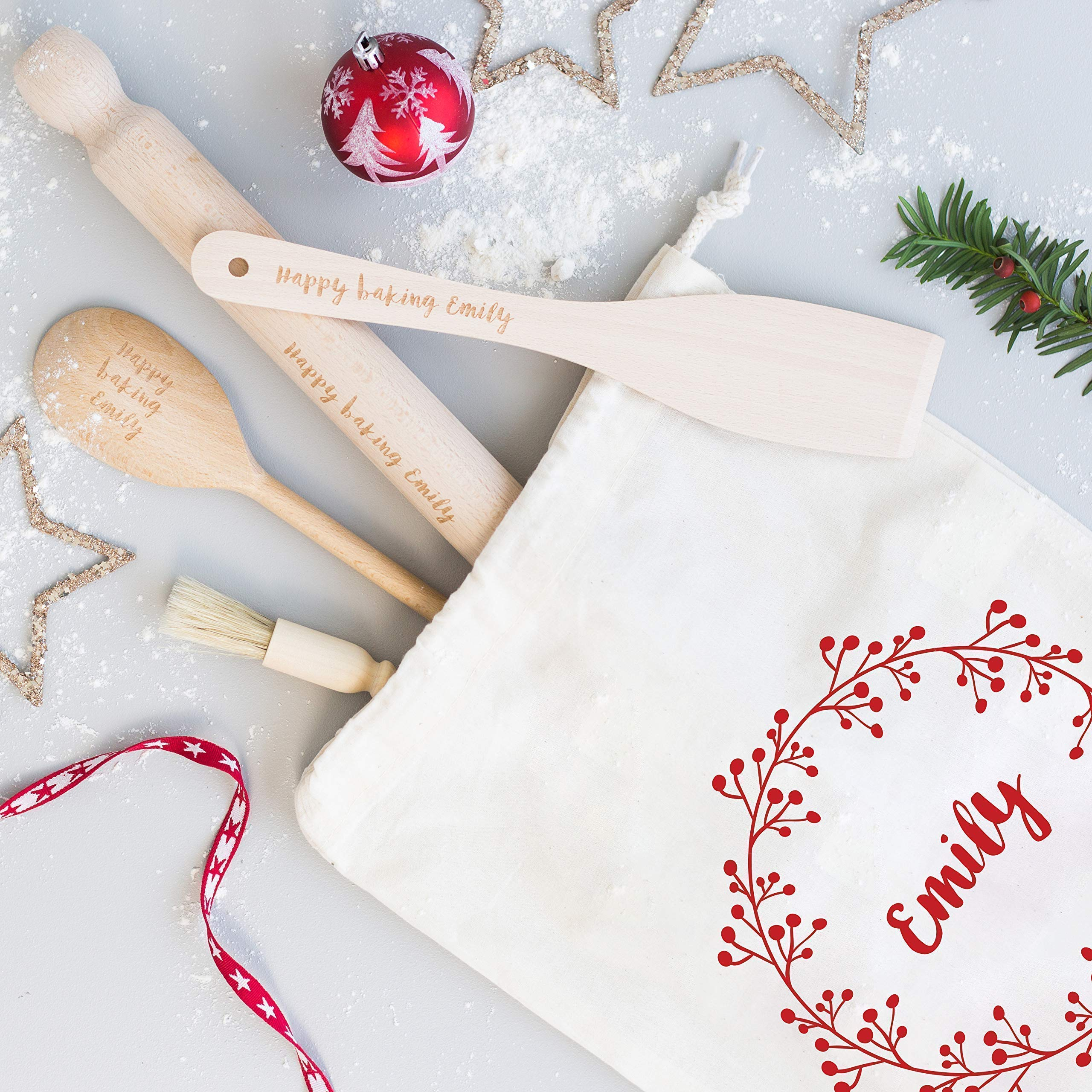 Baking Set Personalised Baking Gift Personalised Baking Set Cotton Bag Cooking Utensils Personalized Kitchen Personalised Bag Buy Online In Dominican Republic At Dominican Desertcart Com Productid 64827833