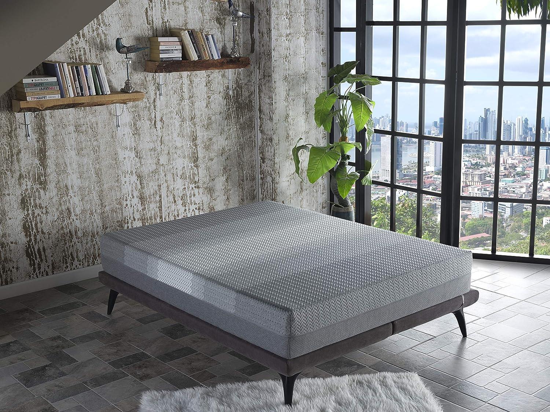 """ISTIKBAL SLEEPist Collection X Silence 11"""" Gel Memory Foam Mattress Medium Feel (Mattress Only) Bed Mattress in A Box (Queen)"""