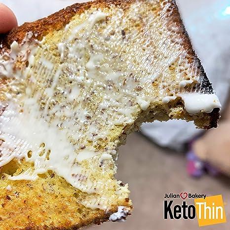 Keto Thin | Bread | 1 Carb | Gluten-Free | Grain-Free | (0