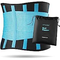 Vitalbak Faja Lumbar Hombre y Mujer - Alivia el Dolor y Las Lesiones en Cintura y Espalda - Cinturón Lumbar con Doble…