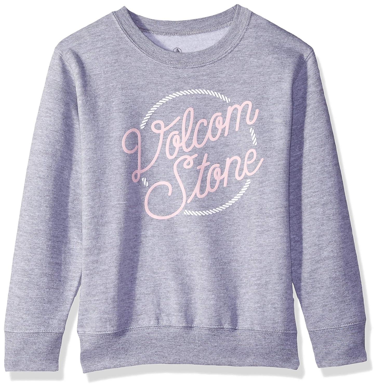 Volcom Little Girls Ponyin Along Crew Pullover Sweatshirt