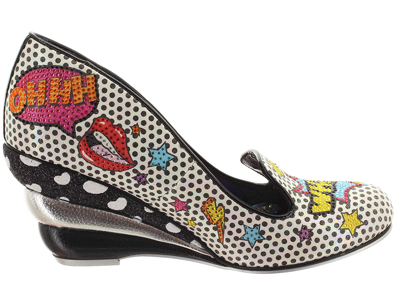 Irregular Choice Wow Pumps Wow Choice Pow 4454-02B 99adaa
