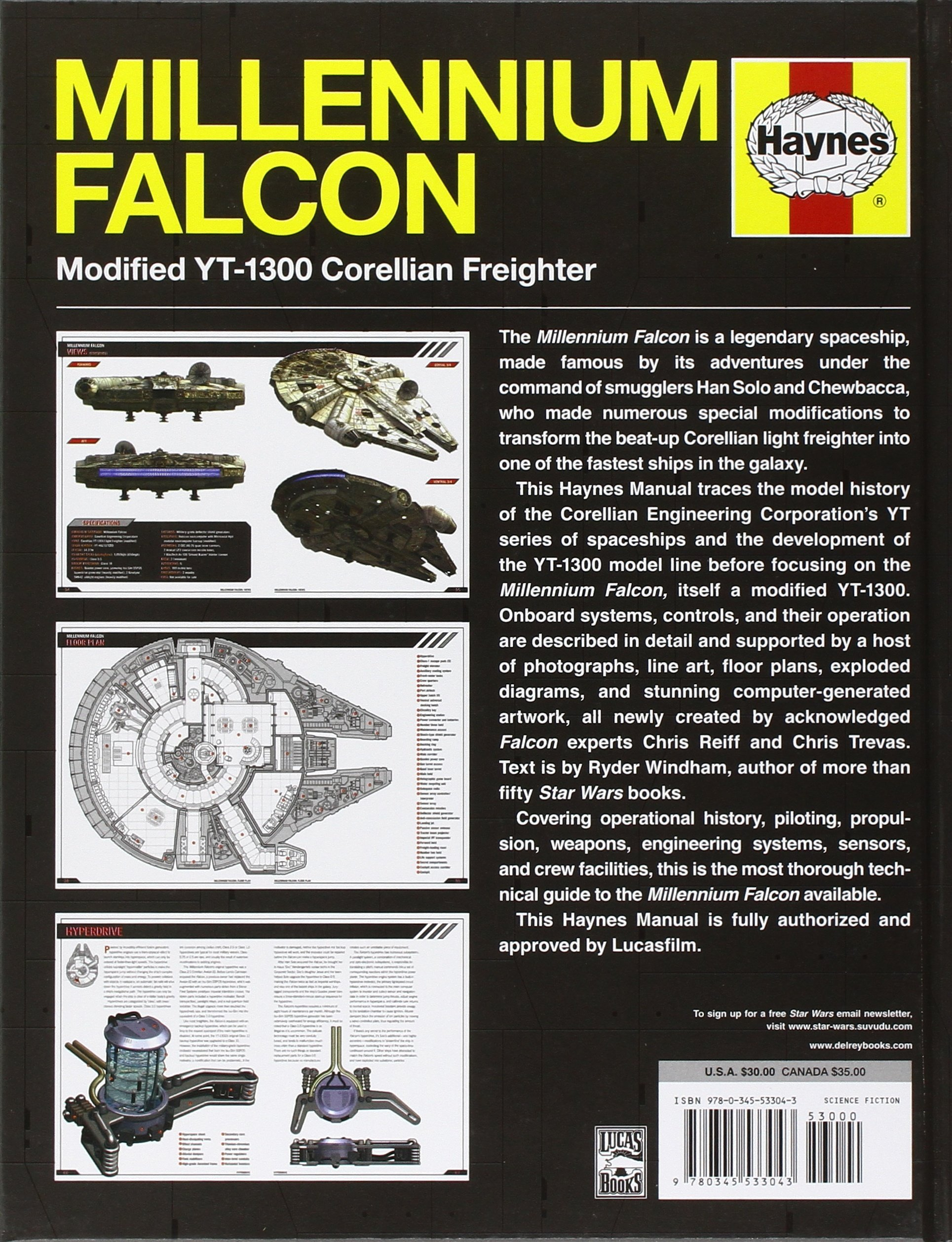 The Millennium Falcon Owners Workshop Manual: Star Wars