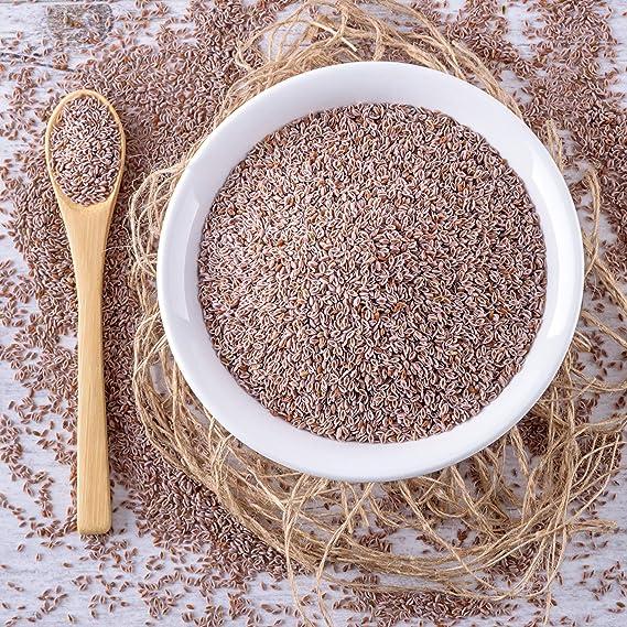 mynatura Semillas de Plantago Ovata biológicas enteras, 1000 g, de la India, ricas en fibra, calidad alimentaria comprobada, 99 % de pureza, producto natural, para hornear, apto para personas y animales: Amazon.es: