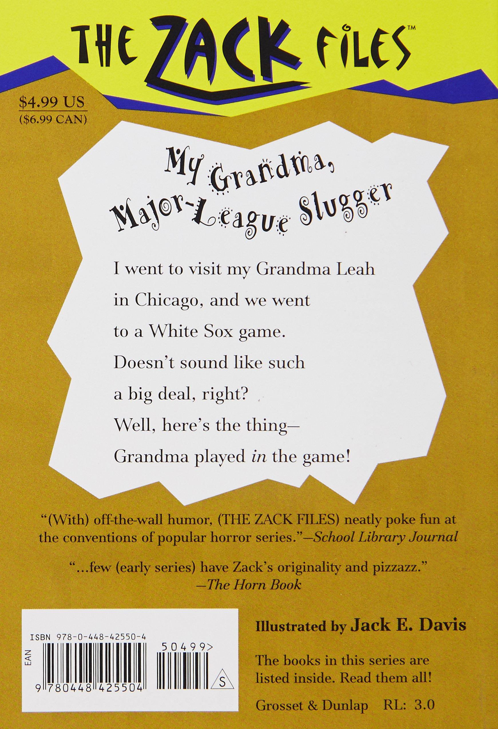 Amazon.com: Zack Files 24: My Grandma, Major League Slugger (The ...