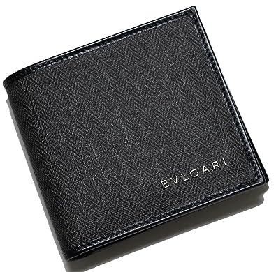 cfa8fe768c57 (ブルガリ) 財布 ウィークエンド メンズ 二つ折 (ブラック/ブラック) BG-1103G