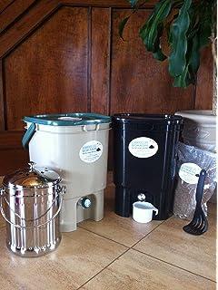 Amazon.com: vermihut 5-tray Gusano de plástico reciclado ...