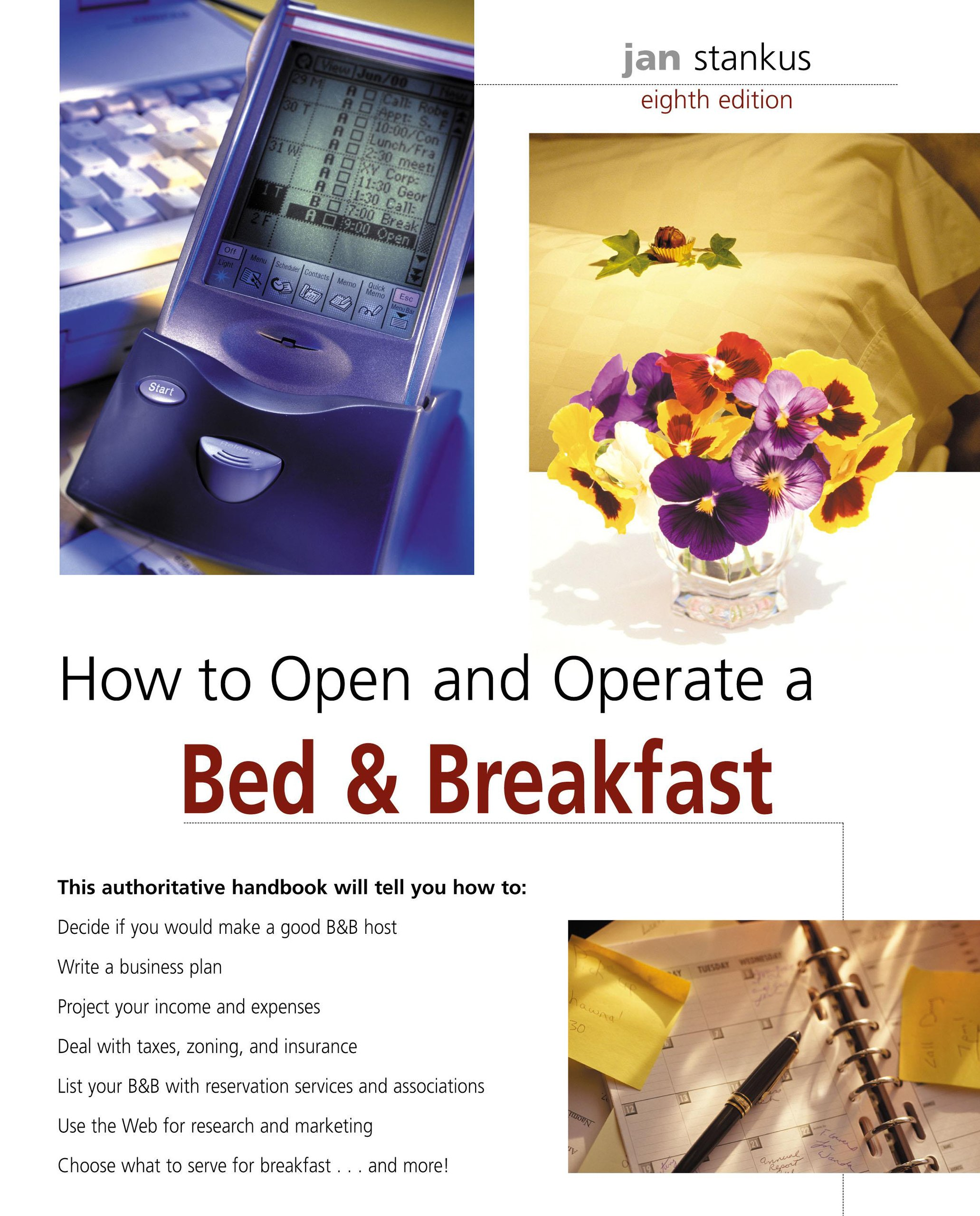How to Open and Operate a Bed & Breakfast, 8th (Home-Based Business Series) pdf epub