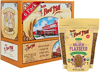 product image for Bob's Red Mill Resealable Organic Whole Golden Flaxseed, 13 Oz (6 Pack)
