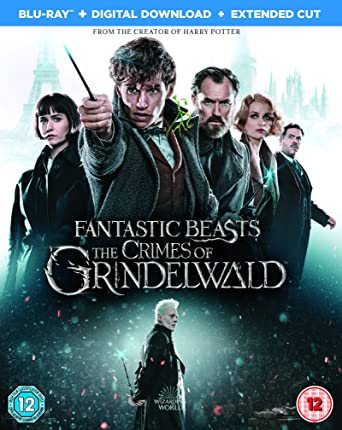 3778a338f5a Fantastic Beasts  The Crimes of Grindelwald Blu-ray 2018  Amazon.co ...