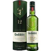 Glenfiddich 12 Year Old Single Malt Scotch Whisky, 700 ml