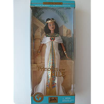 Princess of the Nile Barbie Doll - Dolls of the World Collector Edition (2001): Toys & Games