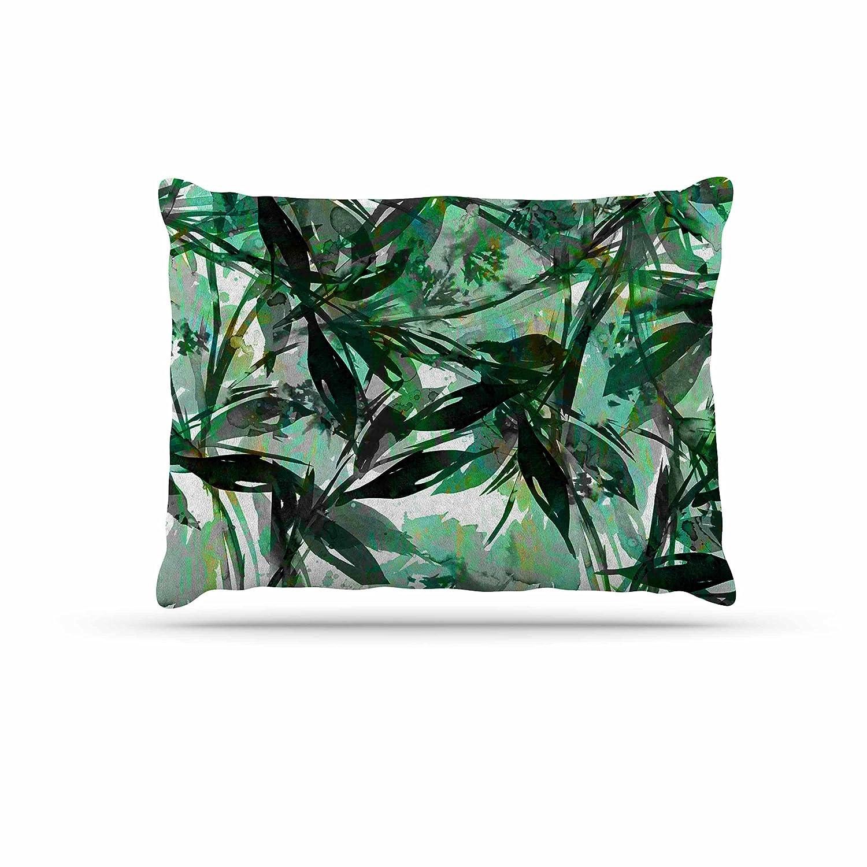 KESS InHouse EBI Emporium Epoch 4  Red Green Dog Bed, 50  x 40