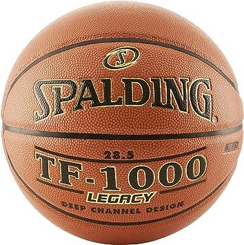 Amazon.com: Spalding TF-1000 Legacy - Balón de baloncesto ...
