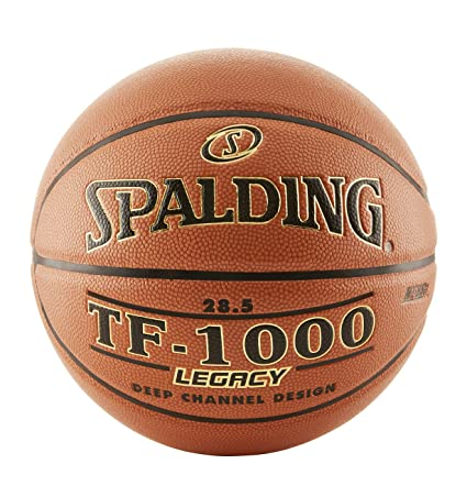 Amazoncom Spalding Tf 1000 Legacy Indoor Composite Basketball