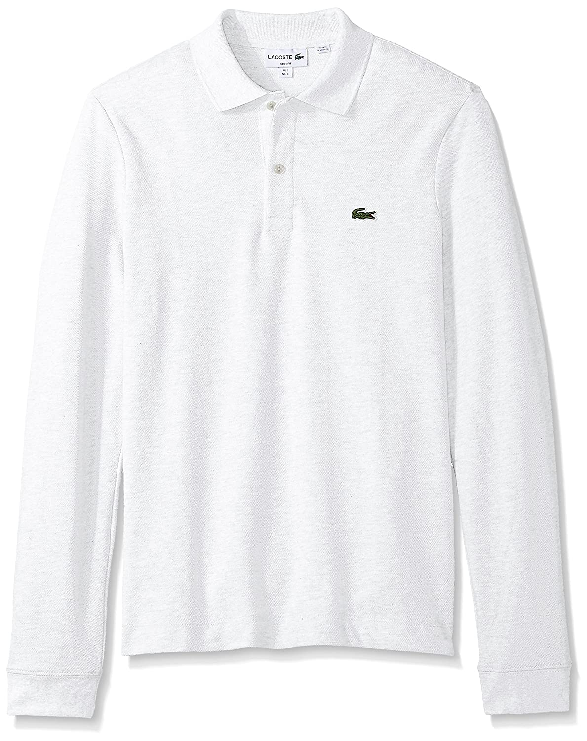Lacoste Men s Long Sleeve Classic Slim Fit Pique Polo at Amazon Men s  Clothing store  e531730e3
