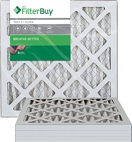 6 Pack 14x25x1 Dust and Pollen Merv 8 Replacement AC Furnace Air Filter