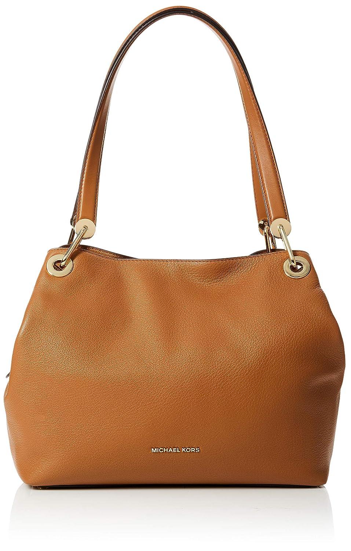 2310b1efc02f Michael Kors Raven Large Leather Shoulder Bag- Acorn  Handbags  Amazon.com
