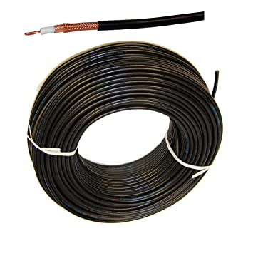 1 Meter Flexible aircell 7 Cable para FM Radio VHF en Marino Calidad para Yates Barco
