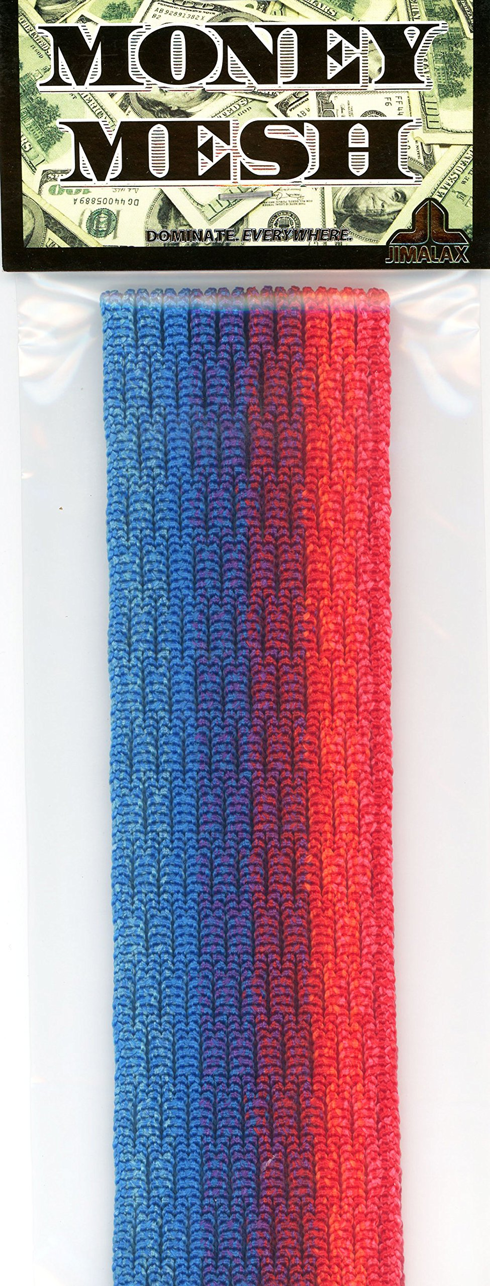 Jimalax Lacrosse Money Mesh Fusion Blue Red Money-Mesh-Blu-Red-1P